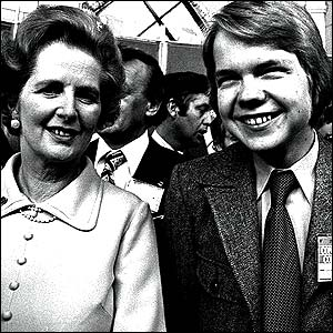 William Hague at the Tory Conference with Aunty Maggie in 1977