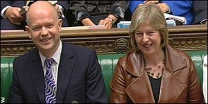 William Hague at Prime Ministers Question Time