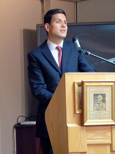 David Miliband for Labour Leader
