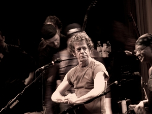 Former Velvet undeground star Lou Reed