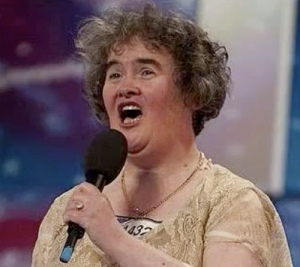 Britains Got Talent Runner up Susan Boyle
